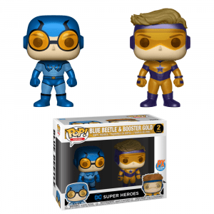 Funko Pop! 2 Pack-Blue Beetle/Booster Gold…
