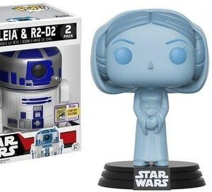 Funko Pop! 2 Pack- Holographic Leia…