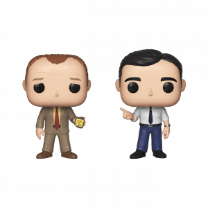 Funko Pop! 2 Pack - Toby vs Michael (The Office)
