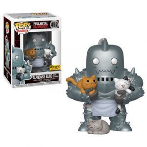 Funko Pop! Alphonse Elric with Kittens…