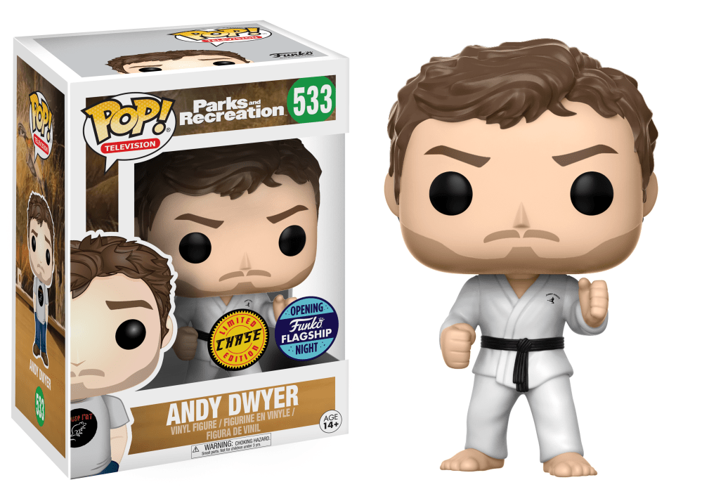 Funko Pop! Andy Dwyer (Chase) (Parks and Recreation)