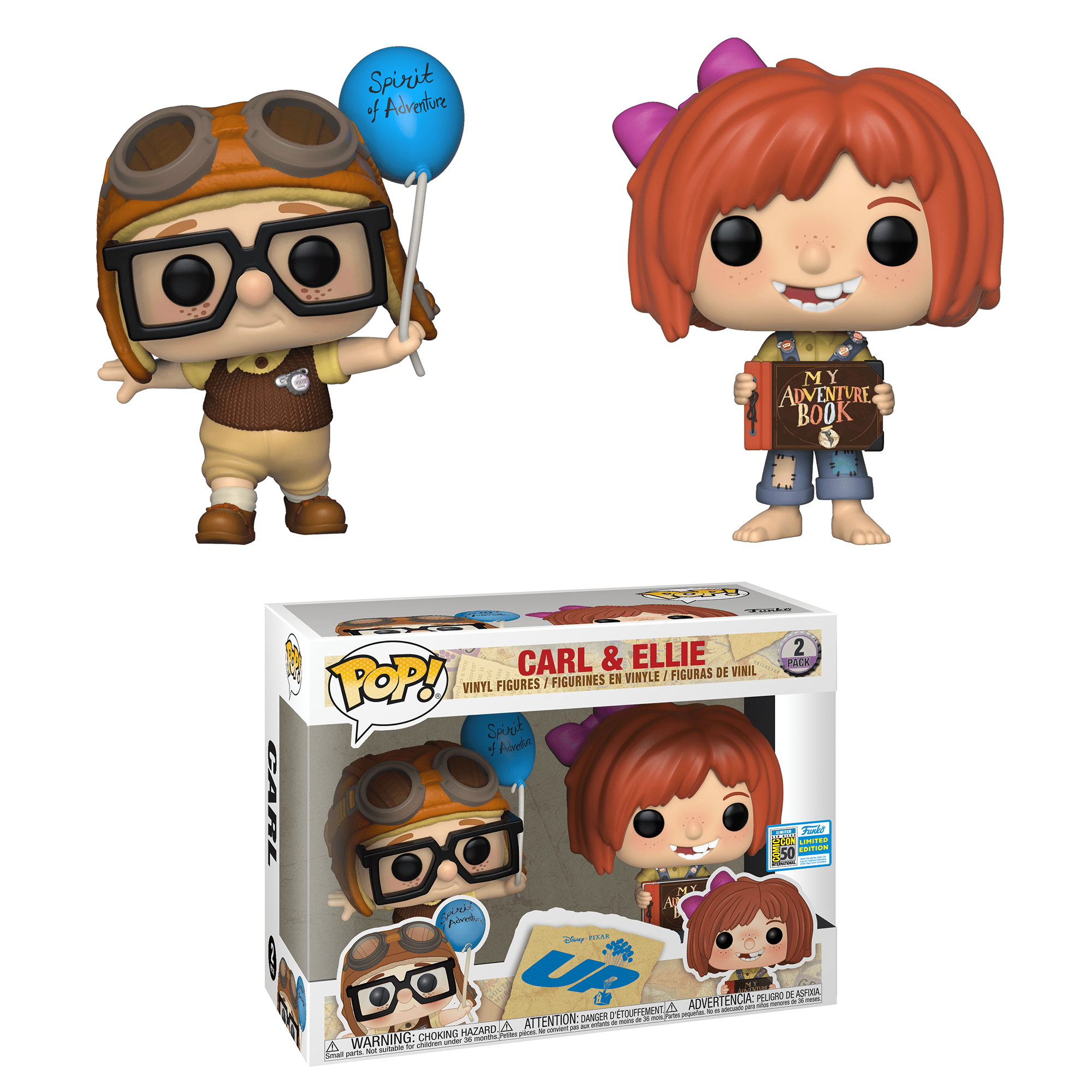 Funko Pop! Carl & Ellie (Up)