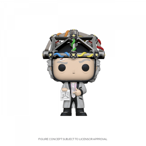 Funko Pop! Doc with Helmet (Back to the Future)