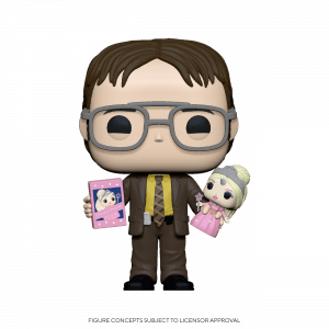 Funko Pop! Dwight Holding Doll (The Office)