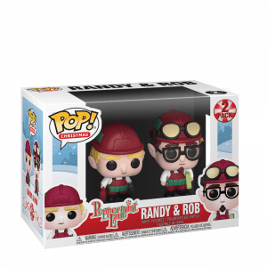 Funko Pop! Funko Christmas Peppermint Lane - Randy and Rob (Peppermint Lane)