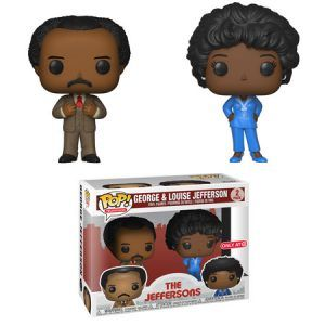 Funko Pop! George and Louise Jefferson (The Jeffersons)