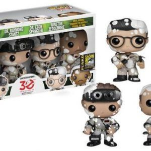 Funko Pop! Ghostbusters (Marshmallowed) (4-Pack) SDCC…