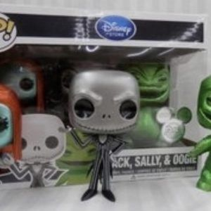 Funko Pop! Jack, Sally, and Oogie…