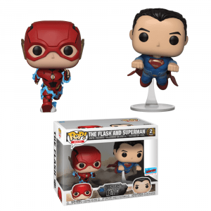 Funko Pop! JL-2 Pack-The Flash and…