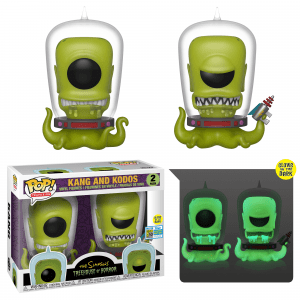 Funko Pop! Kang and Kodos (Glow in the Dark) (The Simpsons)