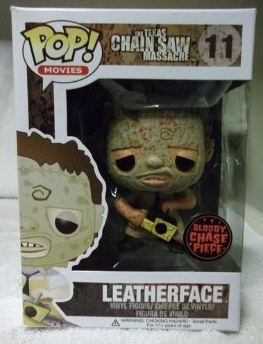Funko Pop! Leatherface (Bloody) (Chase) (New Line)