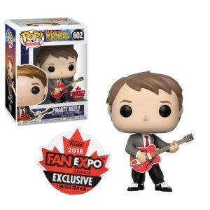 Funko Pop! Marty McFly (w/ Guitar) Fan Expo (Back to the Future)
