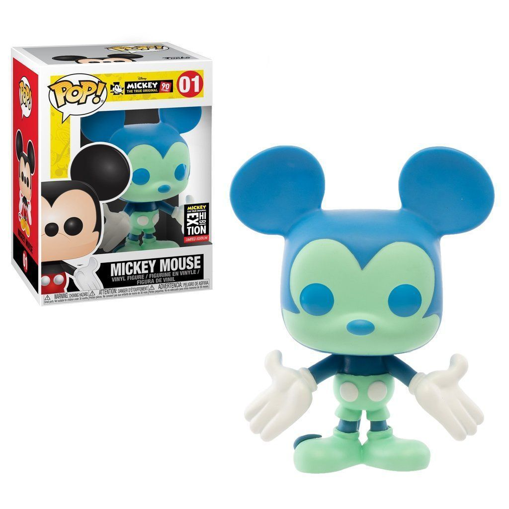 Funko Pop! Mickey Mouse (Blue and Green) NYC Exhibition (Disney Parks)