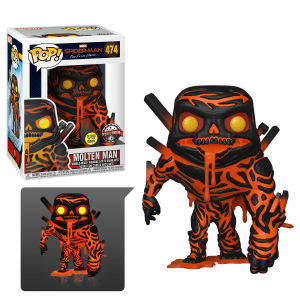 Funko Pop! Molten Man (Glow) (Spiderman…