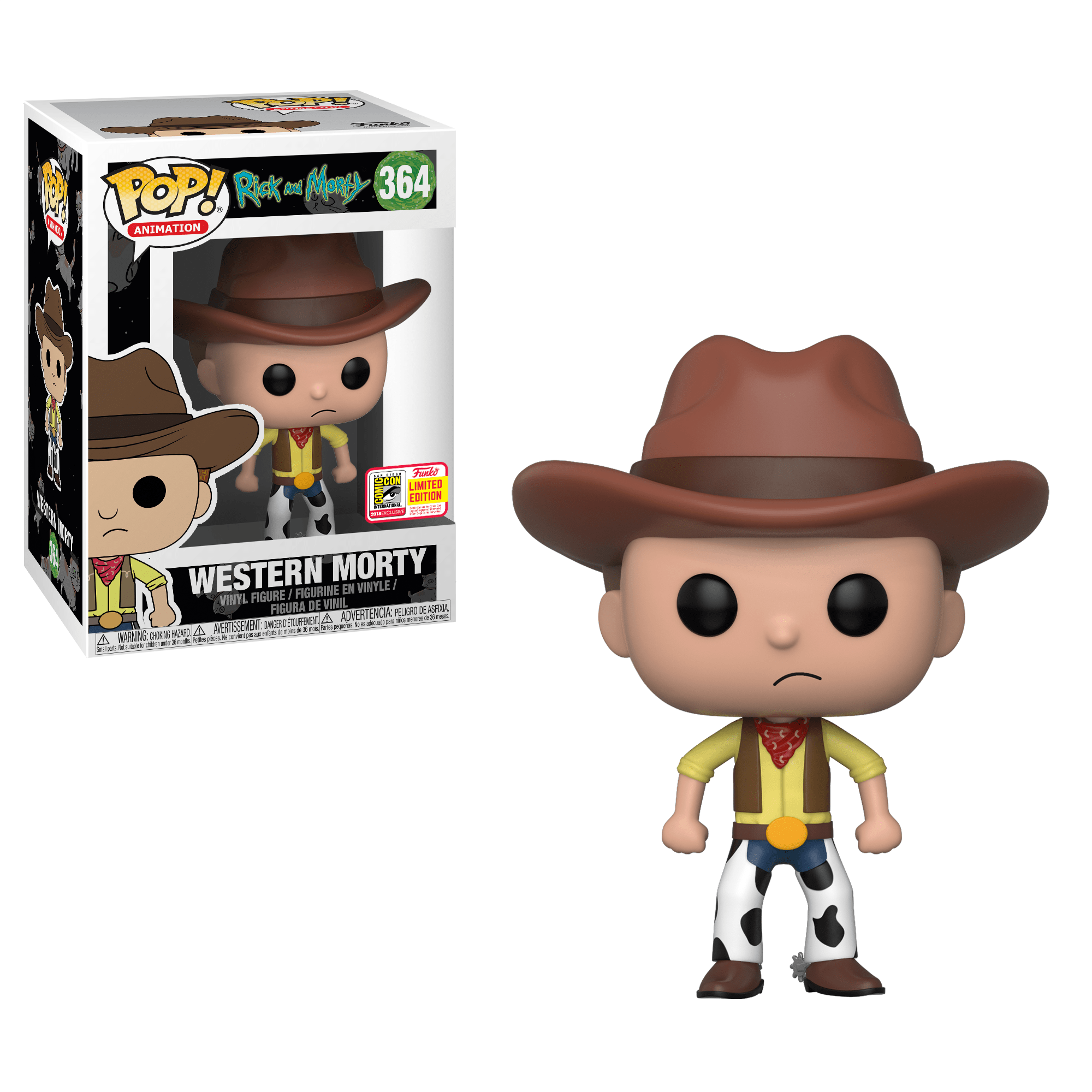 """Funko Pop! Mortimer """"Morty"""" Smith (Western) (Rick and Morty)"""