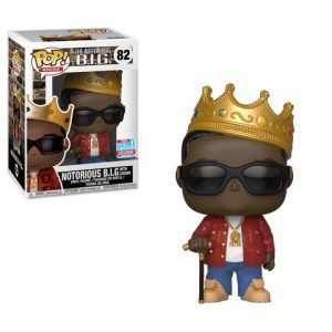 Funko Pop! Notorious B.I.G. with Crown (Red Jacket) Fall Convention (Notorious B.I.G)
