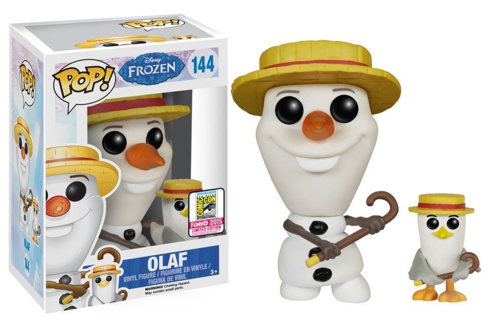 Funko Pop! Olaf (w/ Hat and Cane) (Frozen)