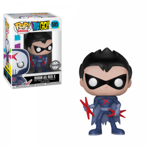 Funko Pop! Robin (as Red X) (Unmasked) (Teen Titans Go!)