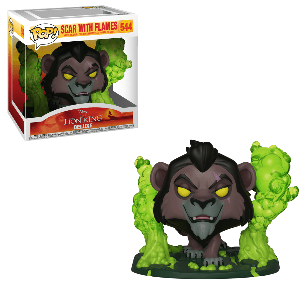 Funko Pop! Scar with Flames (The Lion King)