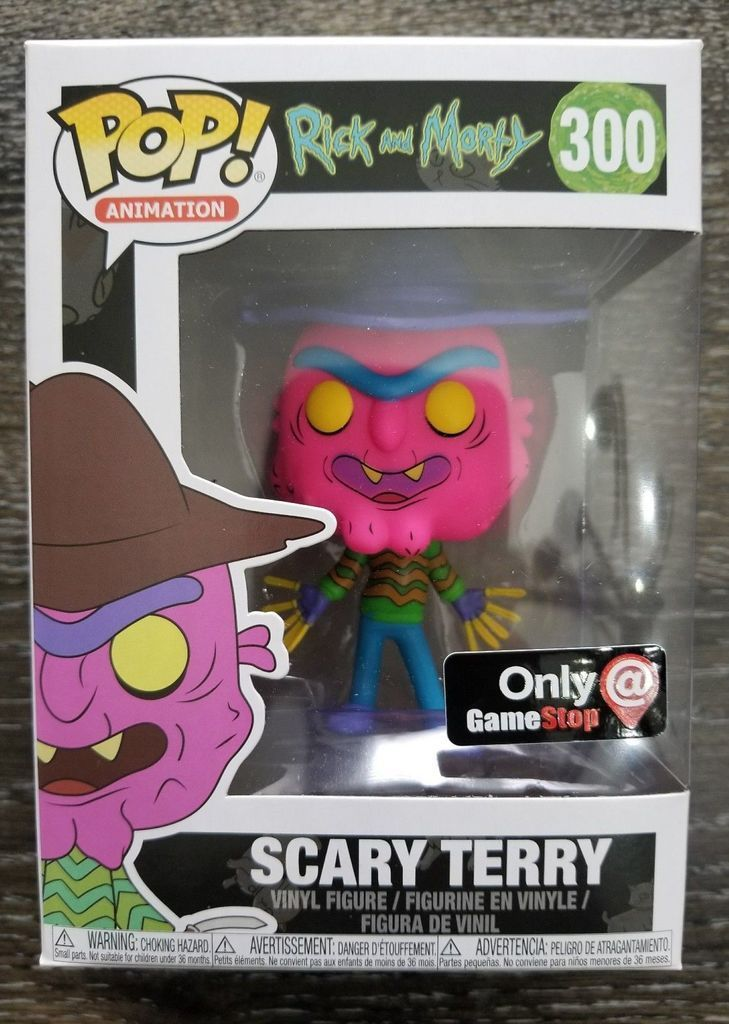 Funko Pop! Scary Terry (Neon) (Rick and Morty)