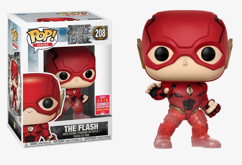 Funko Pop! The Flash (Justice League) (Running) Summer Convention (Justice League)