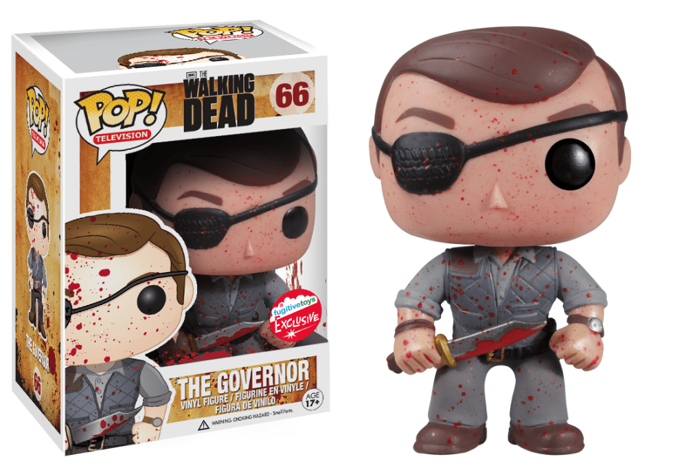 Funko Pop! The Governor - (Bloody) (The Walking Dead)