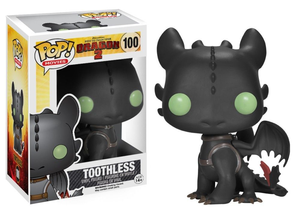Funko Pop! Toothless (How to Train Your Dragon)