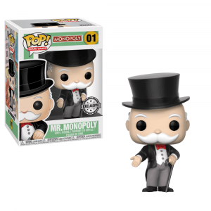 Funko Pop! Uncle Pennybags (Monopoly)