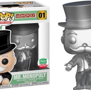 Funko Pop! Uncle Pennybags - (Silver) (Monopoly)