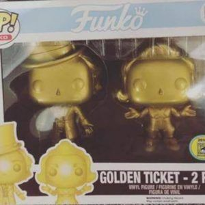 Funko Pop! Willy Wonka - 2 Pack CHROME (Willy Wonka)