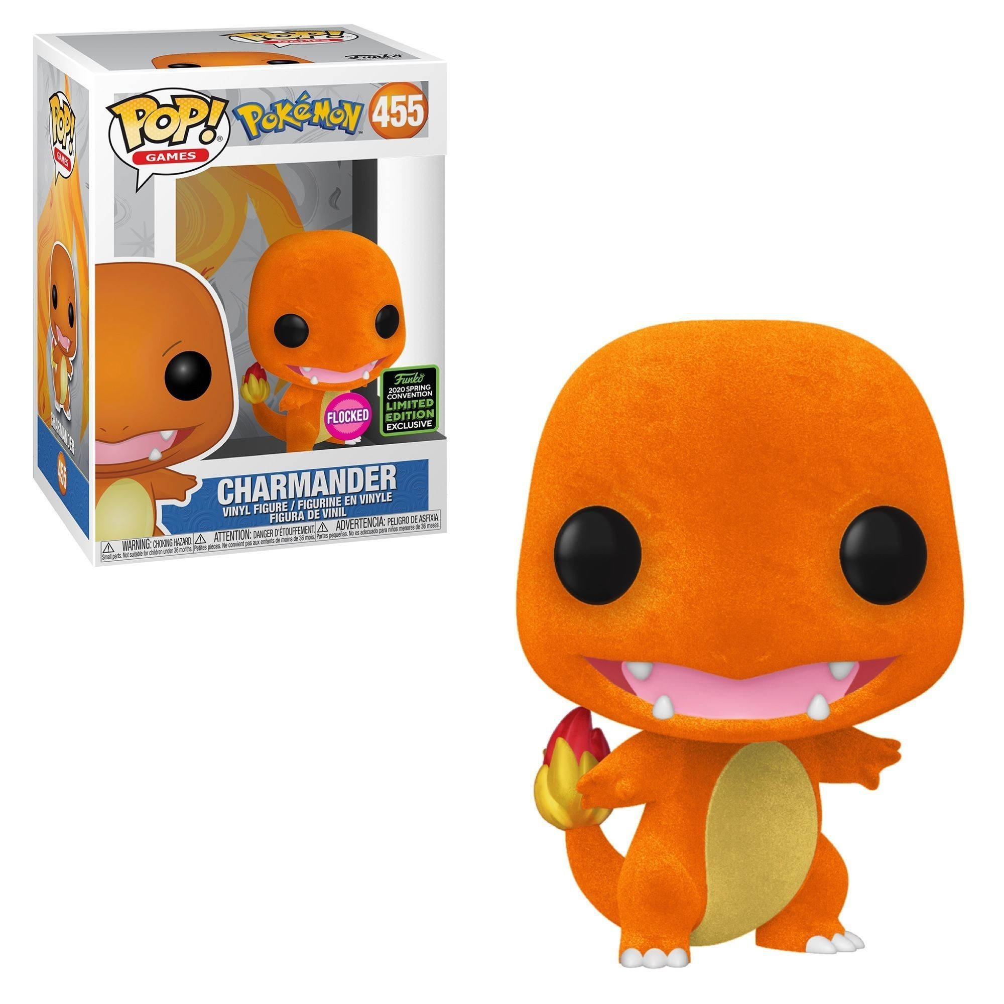 Funko Pop! Charmander (Flocked) [Spring Convention]
