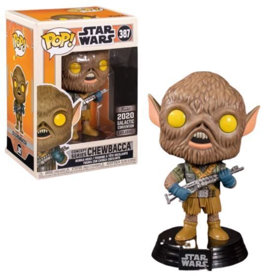 Funko Pop! Chewbacca (Concept Series) [Galactic Convention]