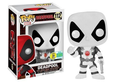 Funko Pop! Deadpool (Movie) (Thumbs Up) (White) [SDCC]