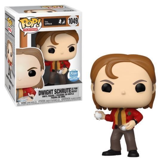 Funko Pop! Dwight Schrute as Pam Beesly