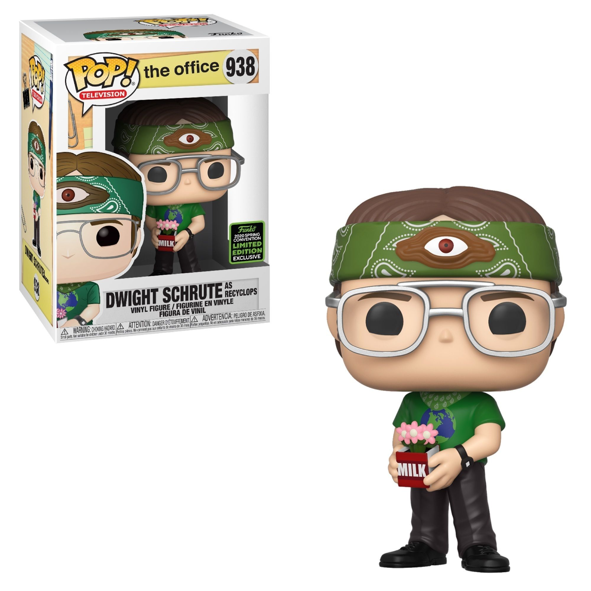 Funko Pop! Dwight Schrute as Recyclops [Spring Convention]