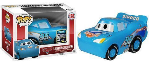 Funko Pop! Lightning McQueen (Dinoco) [Summer Convention]