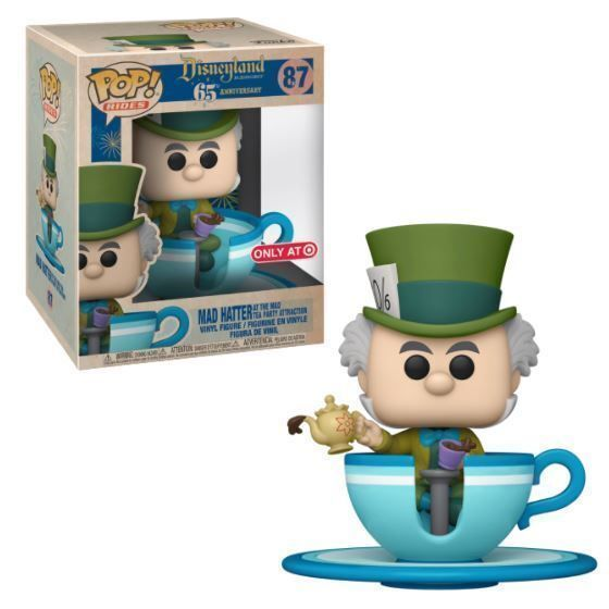Funko Pop! Mad Hatter at the Mad Tea Party Attraction