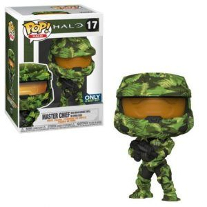 Funko Pop! Master Chief with MA40 Assault Rifle in Hydro Deco