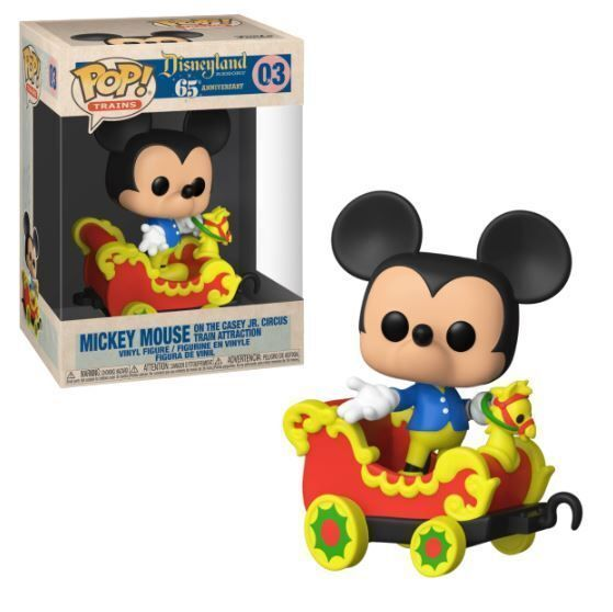 Funko Pop! Mickey on the Casey Jr. Circus Train Attraction