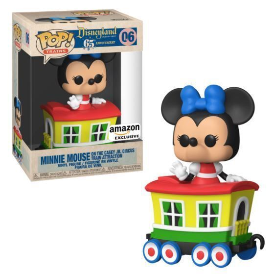 Funko Pop! Minnie Mouse on the Casey Jr. Circus Train Attraction