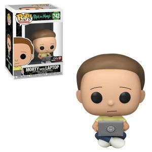 Funko Pop! Morty with Laptop
