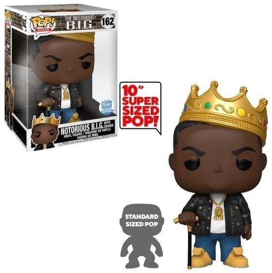 Funko Pop! Notorious B.I.G. with Crown (10-Inch)