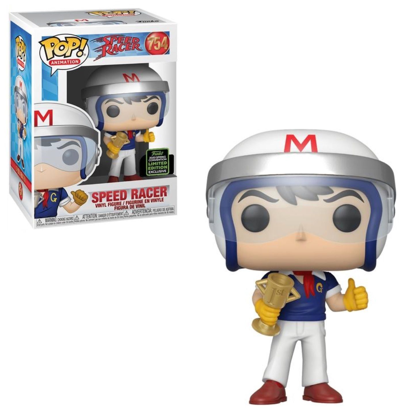 Funko Pop! Speed Racer (with Trophy) [Spring Convention]