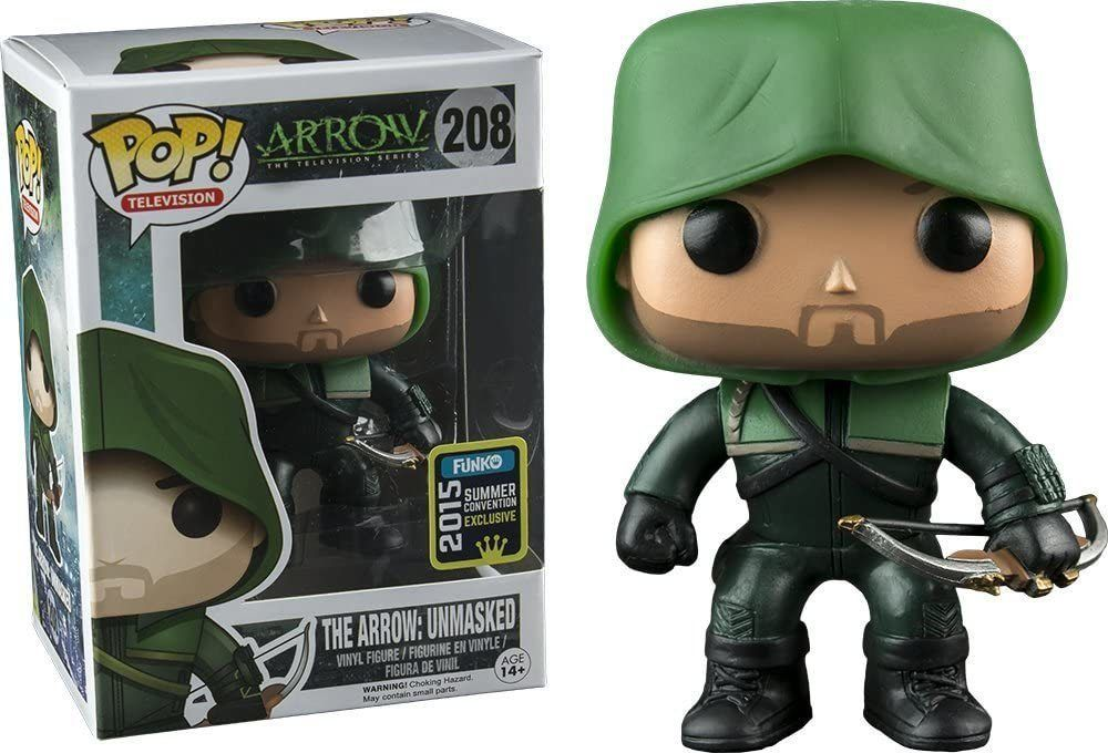 Funko Pop! The Arrow: Unmasked [Summer Convention]