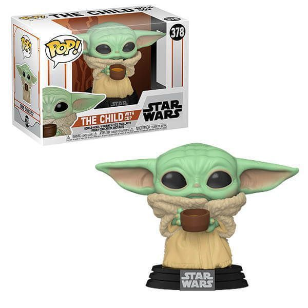 Funko Pop! The Child with Cup