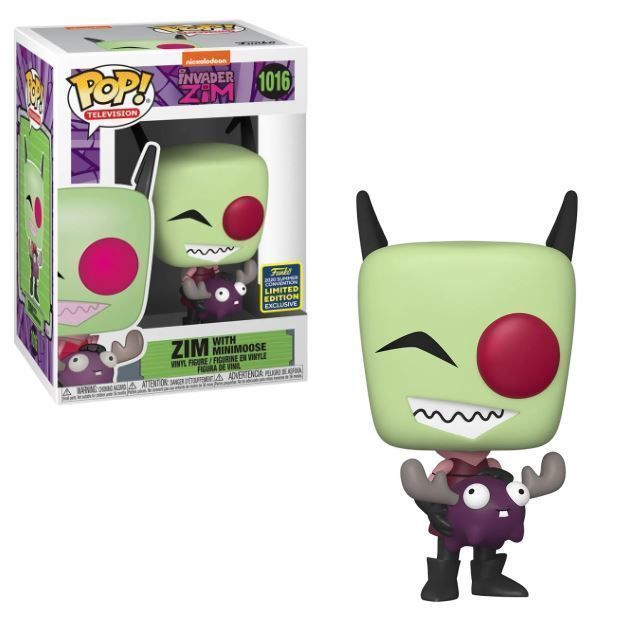 Funko Pop! Zim with Minimoose [Summer Convention]